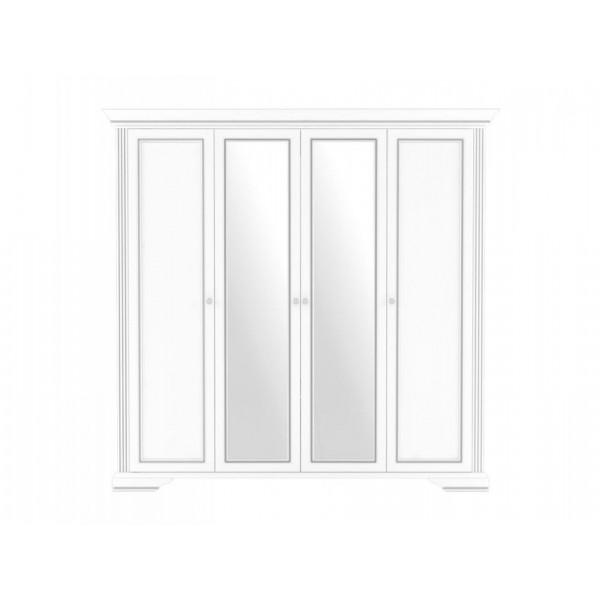 Вайт Шкаф 4D (2S)